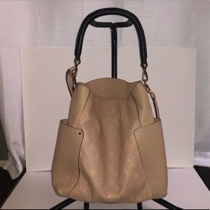 Authentic Louis Vuitton Empreinte Bagatelle, Dune